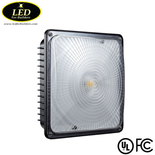Led Canopy Lights: LED Canopy Light (Black
